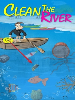 Clean The River Mobile Game
