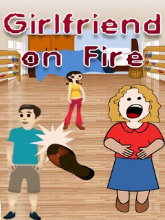 Girlfriend On Fire Mobile Game