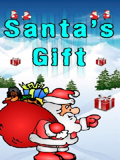 Santa's Gift 128X160 Mobile Game