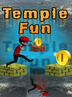 Temple Fun 128X160 Mobile Game