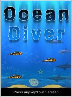Ocean Diver 128X160 Mobile Game