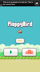 Flappy Bird For Android Game V 1.3 Mobile Game