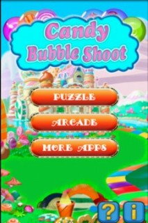 Candy Bubble Shoot Mobile Game