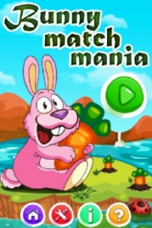 Bunny Match Mania Mobile Game