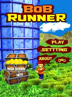 Bob Runner Mobile Game
