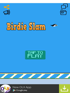 Birdie Slam Penguins And Ice Mobile Game