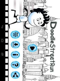 Doodle Street Run Mobile Game