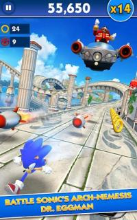 Sonic Dash Mobile Game