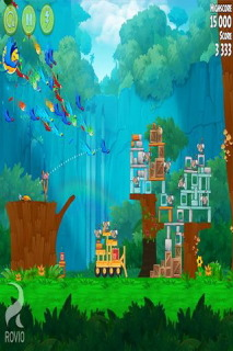 Angry Birds Rio Mobile Game
