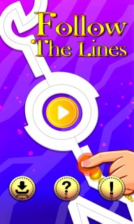 Follow The Lines Mobile Game