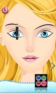 Girls Makeup Salon Mobile Game