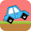 Jump Car Retro Mobile Game