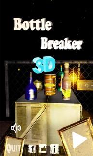 3D Bottle Breaker Mobile Game