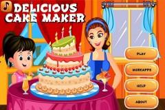 Delicious Cake Maker Mobile Game