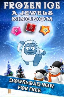 Frozen Ice Jewels Kingdom Mobile Game