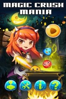 Magic Crush Mania Mobile Game