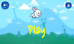 Bunny Flap : Eat The Carrots Mobile Game