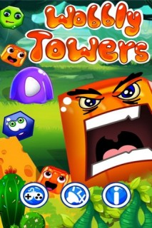 Wobbly Towers Mobile Game