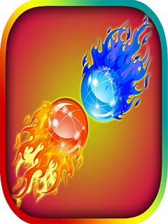 Fire Ball Water Ball Dual Race Mobile Game