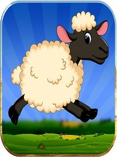 Lucky The Sheep - Farm Run Mobile Game