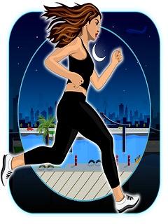 Lady Run : Moon Night Escape Mobile Game