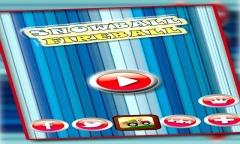 Fireball Snowball Dual Race 3D Mobile Game