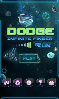 Dodge : Infinite Finger Run Mobile Game