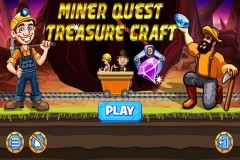 Miner Quest : Treasure Craft Mobile Game