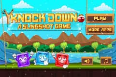 Knock Down : A Slingshot Game Mobile Game