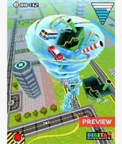 3D Tornado Mania (176x220) Mobile Game
