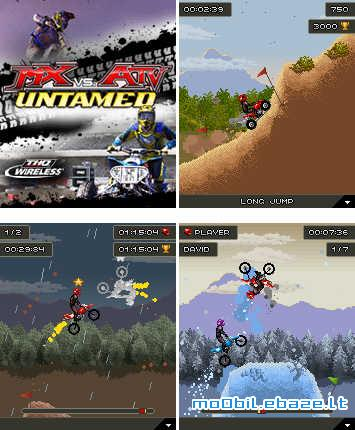 MX Vs ATV Untamed Mobile Game
