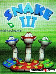 Snake III Mobile Game