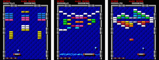 Arkanoid J2ME V1.2.5 Mobile Game