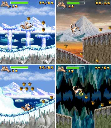 Ice Age 2 Arctic Slide Mobile Game
