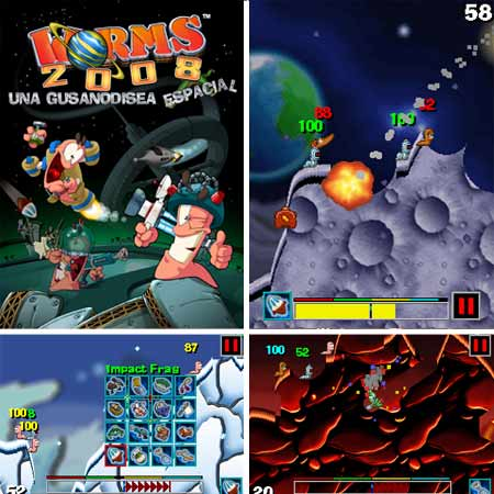 WORMS 2008 Mobile Game Mobile Game