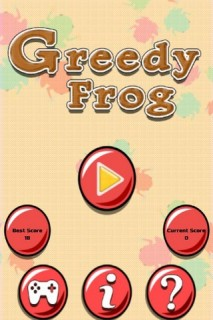 Greedy Frog Mobile Game