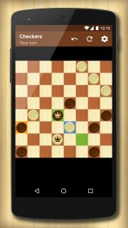 Checkers Strategy Mobile Game