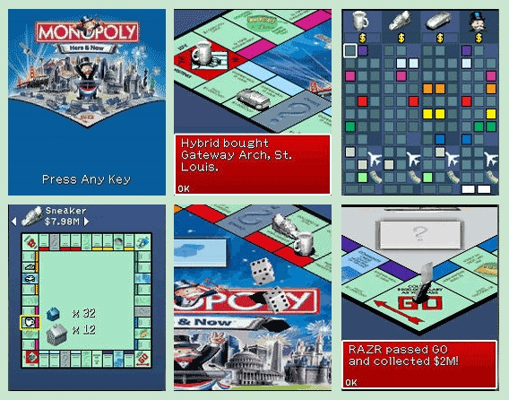 Monopoly Here&Now Mobile Game