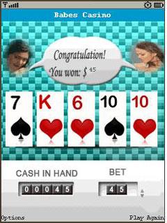 Babes Casino Mobile Game