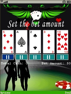 Models Poker 360X640 Mobile Game