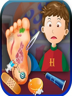 Foot Doctor Kids Casual Game Mobile Game