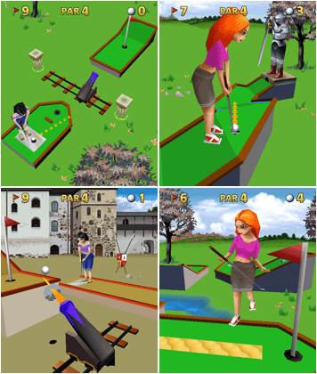 3D Mini Golf Castles Mobile Game