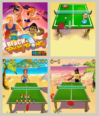 Beach Ping Pong 3D V1.00 Mobile Game
