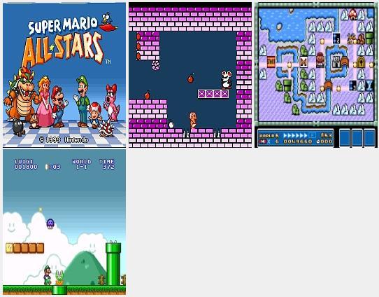 Super Mario All Stars Mobile Game