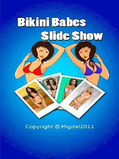 Slideshow Bikini Babes 240x320 Mobile Game