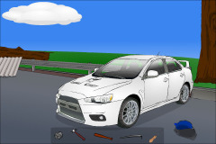 Destroy An Imported Car Mobile Game