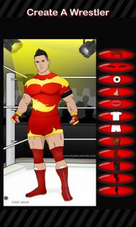 Create A Wrestler Mobile Game