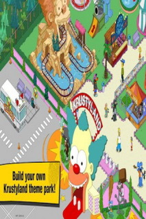 The Simpsons Tapped Out For Android Games V 4.9.5 Mobile Game
