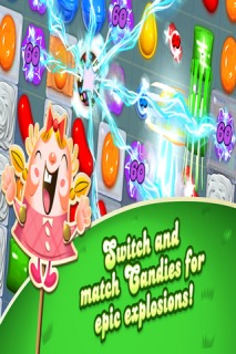 Candy Crush Saga For Android Phone Game V 1.40.0 Mobile Game