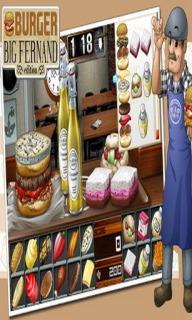 Burger - Big Fernand For Smartphones Mobile Game